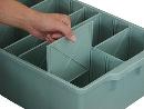 サンカ 釘塩ビ継手小物箱♯234用仕切り板 1枚