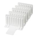 冷凍庫スタンド仕切5枚セットSTK−02WH