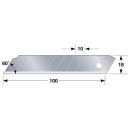 タジマ カッター替刃 凄刃 銀 大 10枚入 CBL−SG10
