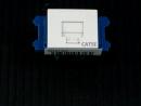 フルカラー埋込LANモジュラジャック NR3160