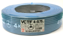 VCTF0.75Sq×4 束物電線 100m