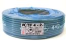 VCTF2.0Sq×4 束物電線 100m