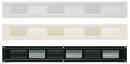 カネシン スリム換気口 ハーフ SS-45(W)
