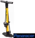 Panaracer(パナレーサー) 楽々ポンプ [イエロー] エアゲージ付 米式/英式/仏式バルブ対応 BFP-PGAY1-LH