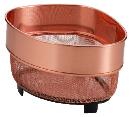 パール金属 アクアスプラッシュ 純銅 三角コーナーザル ミニ H-9187
