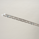 ステンレス製 伸縮カーテンレール ダブル 1.1〜2.0m