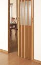 窓付きパネルドア ミディアムウッド 94×174cm