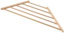 木製三角コーナーハンガー 大