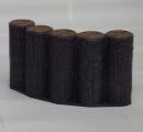サンポリ プラスチック製擬木 はなえ80 5連平行型アーチ200