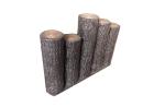 サンポリ プラスチック製擬木 はなえ80 5連段違型300