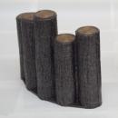サンポリ プラスチック製擬木 はなえ80 5連段違型アーチ300