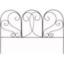 タカショー フラワー花壇フェンス カーブ