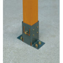タカショー ラティス用柱固定金具 ベースプレート