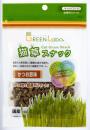 GREEN Labo. 猫草スナック かつお節味 40g