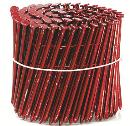 ワイヤ連結釘 2X4専用連結釘  赤 長さ:88.9 太さ:3.76 150本×10巻 MNF(V)38-90