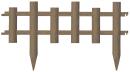 リッチェル ガーデンフェンス 木目調 60型 610×22×335H ブラウン