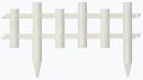 リッチェル ガーデンフェンス 木目調 60型 610×22×335H ホワイト