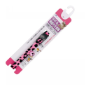 NMパンサー柄猫首輪 外れる機能付き ピンク