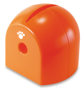 ペットロールペーパーホルダー オレンジ