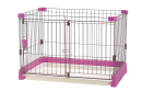 ペット用 お掃除簡単サークル 90−60 ピンク