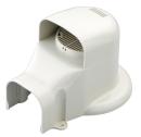 因幡電工 ウォールコーナー エアコンキャップ/換気エアコン用 SWX−77−I