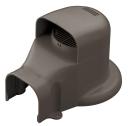 因幡電工 ウォールコーナー エアコンキャップ/換気エアコン用 SWX−77L−B