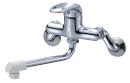三栄水栓 【キッチン用混合栓】 シングル混合栓 断熱キャップ付 K1700D-4UR