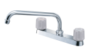 SANEI 【キッチン用混合栓】 ツーバルブ台付混合栓 K611-LH
