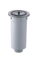 SANEI 【キッチン用流し排水栓】カゴ付流し排水栓 H65