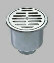 三栄水栓 排水口の悪臭を防ぐ ステンレスワントラップ VP・VUパイプ兼用