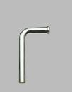 SANEI 【トイレ用 ロータンク洗浄管下部】 パイプ径38mm・全長410mm H81-1-A