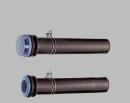 SANEI 【風呂釜と浴槽の接続用】バスPC接続管 300mm パッケージ入り PT46-5