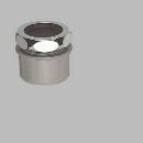 SANEI クリーンアダプター 袋ナット直径38mm・パイプ径50mm H70-20-38B