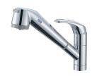 三栄水栓 【キッチン用】 シングル浄水器付ワンホールスプレー混合栓 K87680TJV-13