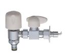 三栄水栓 【食器洗い機用上部分岐バルブ】ストッパー付 PB585-13