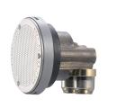 SANEI バスルーム用追い焚き配管部品 一口循環接続金具 L型 ステンレスカバー付