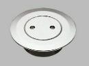 三栄水栓 悪臭を防ぐ防臭パッキン付の掃除口 兼用ツバ広掃除口 VP・VUパイプ兼用