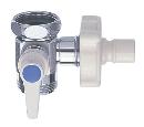 三栄水栓 【食器洗い機用分岐バルブ】水栓本体とパイプの間に取り付けて切替えるタイプ PB520-13