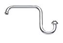 SANEI 浄水器専用パイプ 下向きタイプ PA165-60X-16
