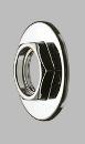 SANEI 配管継手 座付ナット ネジサイズ:G1/2 パッケージ入り PU81-13-13