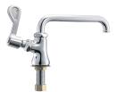 三栄水栓 【業務用・飲食店】 厨房用立形自在水栓(左ハンドル) A5310L-13