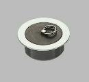 三栄水栓 【ゴム栓付風呂栓】 VU・VPパイプ兼用 呼び50用 H20-50