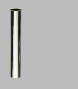 三栄水栓 【排水栓、U管の接続】片ツバ直管 パイプ径25×長300mm H70-64-25X300