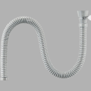 SANEI 【差込式接続タイプの流し排水栓ホース】 長さ1.5m PH62-861-1.5