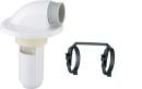 SANEI 洗濯機排水トラップ VP・VUパイプ兼用 ダブルバンド付 H5502-50