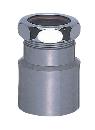 三栄水栓 【洗面用 クリーンアダプター】 Sトラップ径25×直径40mmパイプ用 H70-21-25A