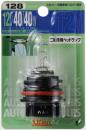 スタンレー ハロゲン電球 ブリスターパック ガラス球:FF(特殊) 口金T15 12V 40/40W