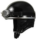 CEPTOO[セプトゥー] 半帽 [ブラック] 57〜59cm未満 [ゴーグル付属] CV-X BLACK