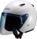 マルシン工業 ジェットヘルメットM-400 ホワイト フリーサイズ(57〜59cm未満)