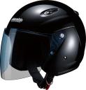 マルシン工業 ジェットヘルメットM-400 ブラック フリーサイズ(57〜59cm未満)